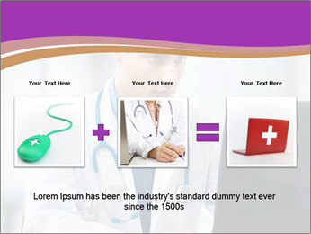 Doctor using PowerPoint Template - Slide 22