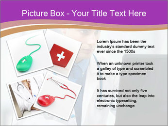 Doctor using PowerPoint Template - Slide 23