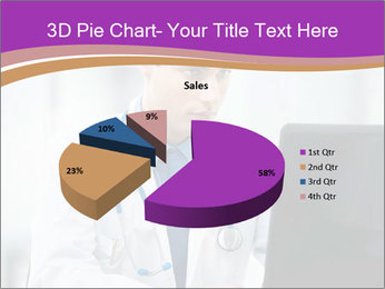 Doctor using PowerPoint Template - Slide 35