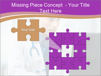 Doctor using PowerPoint Template - Slide 45