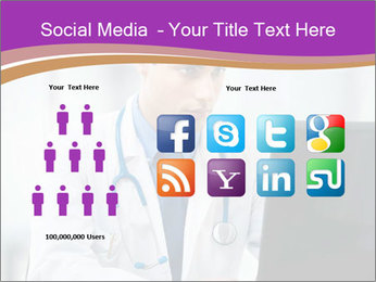 Doctor using PowerPoint Template - Slide 5