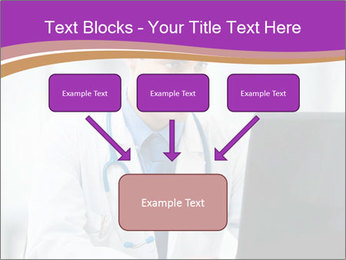 Doctor using PowerPoint Template - Slide 70