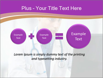 Doctor using PowerPoint Template - Slide 75