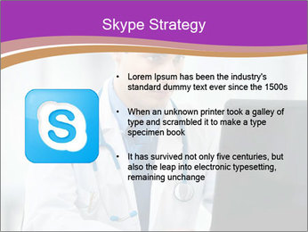 Doctor using PowerPoint Template - Slide 8