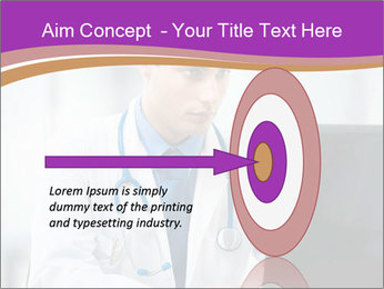 Doctor using PowerPoint Template - Slide 83