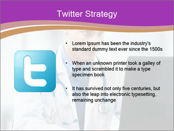 Doctor using PowerPoint Template - Slide 9