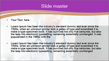 Doctor using PowerPoint Template - Slide 2
