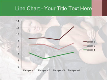 Beautiful and sexy brunette PowerPoint Templates - Slide 54