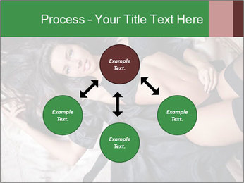 Beautiful and sexy brunette PowerPoint Template - Slide 91