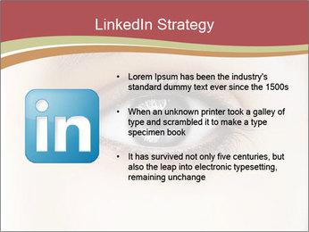Eye PowerPoint Template - Slide 12