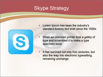 Eye PowerPoint Template - Slide 8