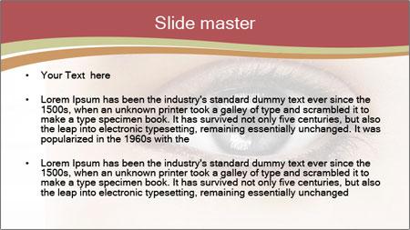 Eye PowerPoint Template - Slide 2