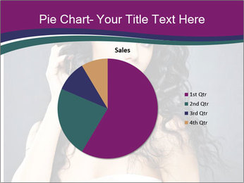 Portrait of the beautiful fashion sexy woman PowerPoint Template - Slide 36
