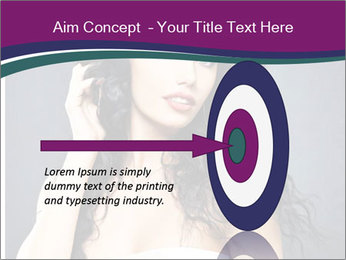 Portrait of the beautiful fashion sexy woman PowerPoint Template - Slide 83