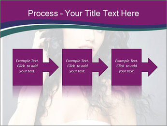 Portrait of the beautiful fashion sexy woman PowerPoint Templates - Slide 88