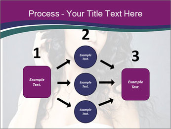Portrait of the beautiful fashion sexy woman PowerPoint Template - Slide 92