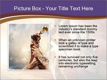 Hands squeeze PowerPoint Template - Slide 13