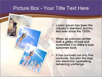 Hands squeeze PowerPoint Template - Slide 17