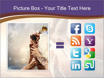 Hands squeeze PowerPoint Template - Slide 21