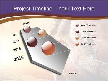 Hands squeeze PowerPoint Template - Slide 26