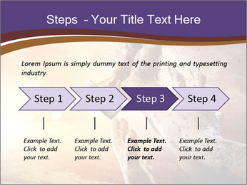 Hands squeeze PowerPoint Template - Slide 4