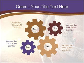 Hands squeeze PowerPoint Template - Slide 47