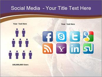 Hands squeeze PowerPoint Template - Slide 5