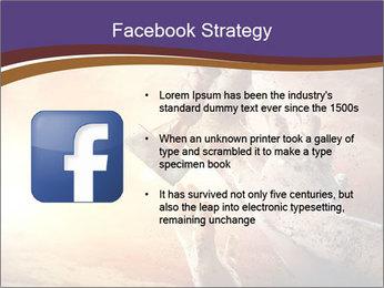Hands squeeze PowerPoint Template - Slide 6