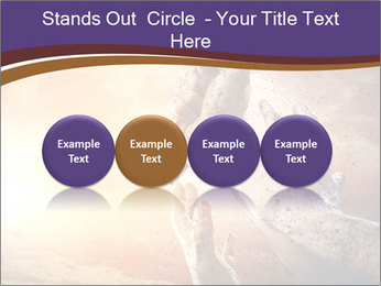 Hands squeeze PowerPoint Template - Slide 76