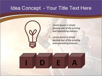Hands squeeze PowerPoint Template - Slide 80