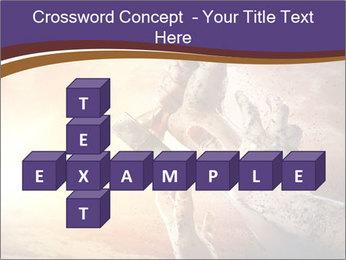 Hands squeeze PowerPoint Template - Slide 82