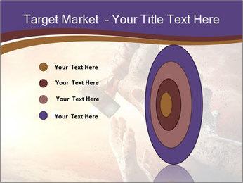 Hands squeeze PowerPoint Template - Slide 84