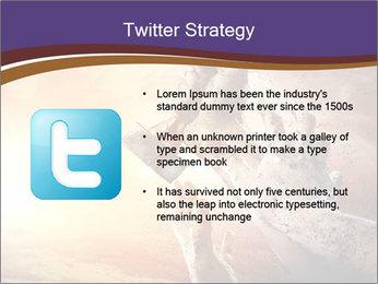 Hands squeeze PowerPoint Template - Slide 9