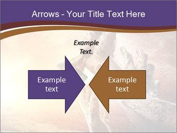 Hands squeeze PowerPoint Template - Slide 90