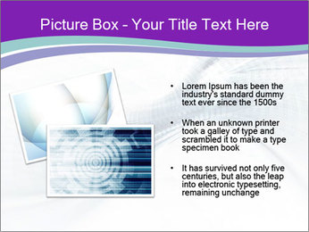 Blue and white abstract PowerPoint Templates - Slide 20