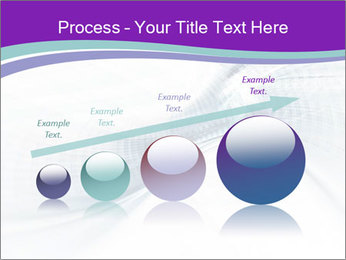 Blue and white abstract PowerPoint Templates - Slide 87