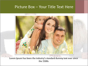 Father doing push-up PowerPoint Template - Slide 15