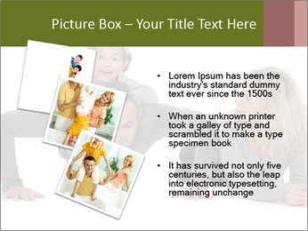 Father doing push-up PowerPoint Templates - Slide 17