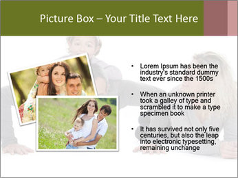 Father doing push-up PowerPoint Template - Slide 20