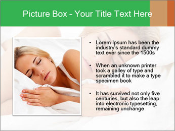 A young pretty woman PowerPoint Templates - Slide 13