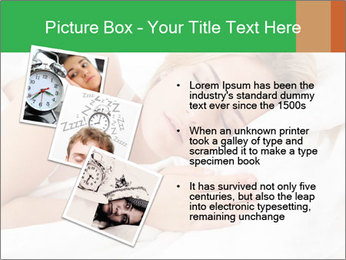 A young pretty woman PowerPoint Templates - Slide 17