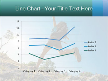 Hiker jumps PowerPoint Templates - Slide 54