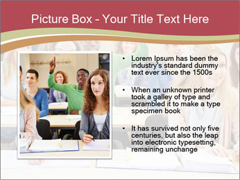 African student PowerPoint Template - Slide 13