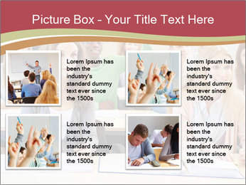 African student PowerPoint Template - Slide 14