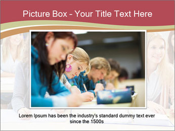African student PowerPoint Template - Slide 15