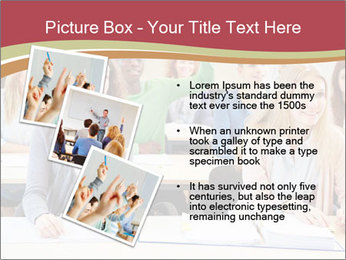 African student PowerPoint Template - Slide 17