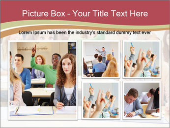 African student PowerPoint Template - Slide 19