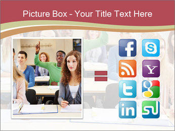 African student PowerPoint Template - Slide 21