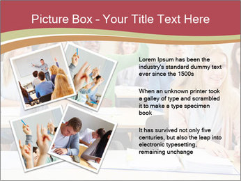 African student PowerPoint Template - Slide 23