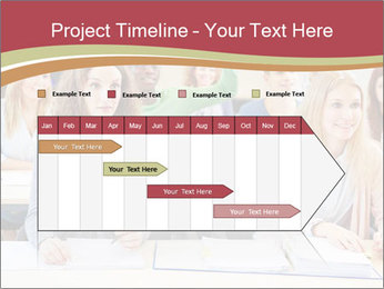 African student PowerPoint Template - Slide 25